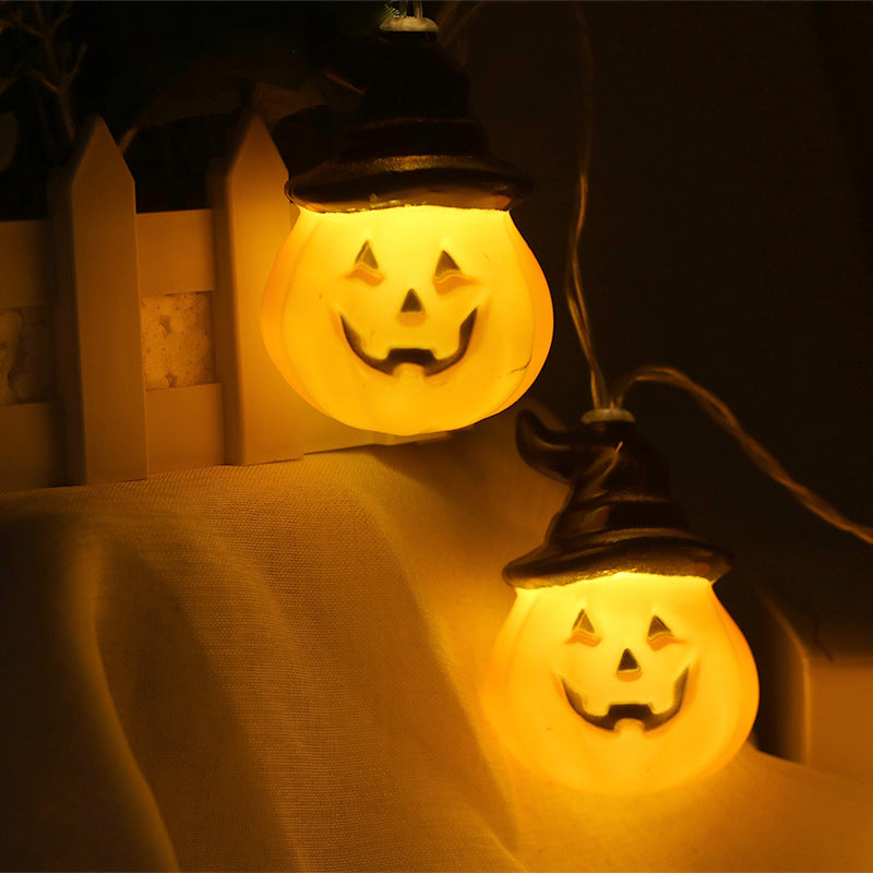 Pumpkin LED String Lights Halloween Decoration Lights Fairy Light Lamp Lantern Helloween Decoration