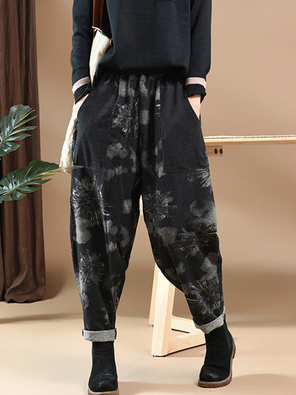 National Floral Print Jean Pants