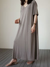 Loose Comfortable Simple Long Dress
