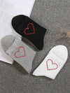Love Decoration Plain Socks