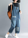 Original With Pocket Denim Jumpsuits