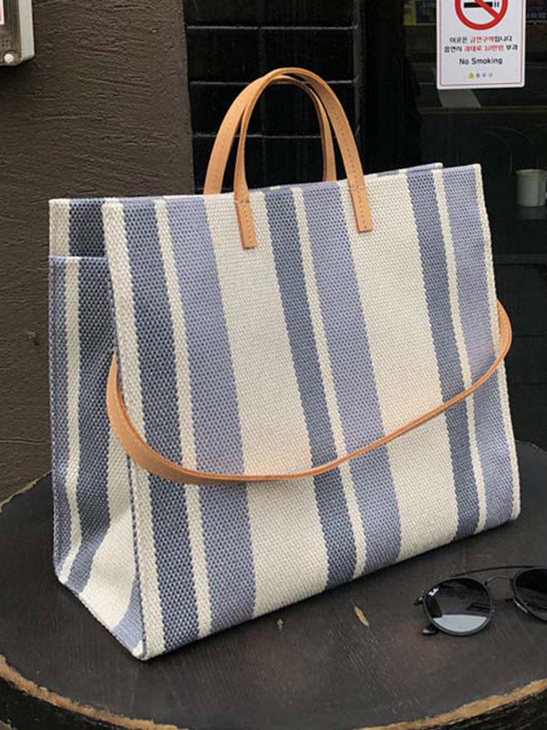 Striped Big Bags