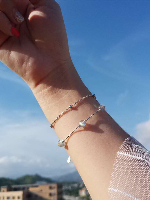Moonstone Simple Bracelet Accessories