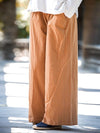 Loose Pure Color Comfortable Linen Pants