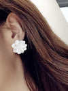 Noble Petal Split-joint Earrings