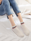 Double Color Stripe Cotton Socks