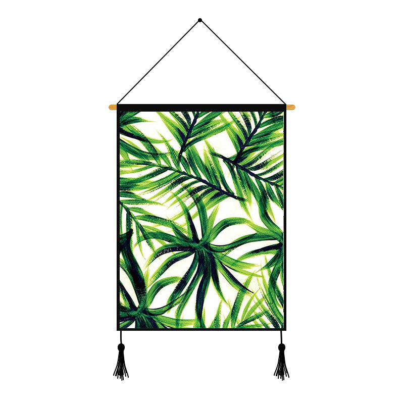 Green Plants Printed Wall Hanging Decoration