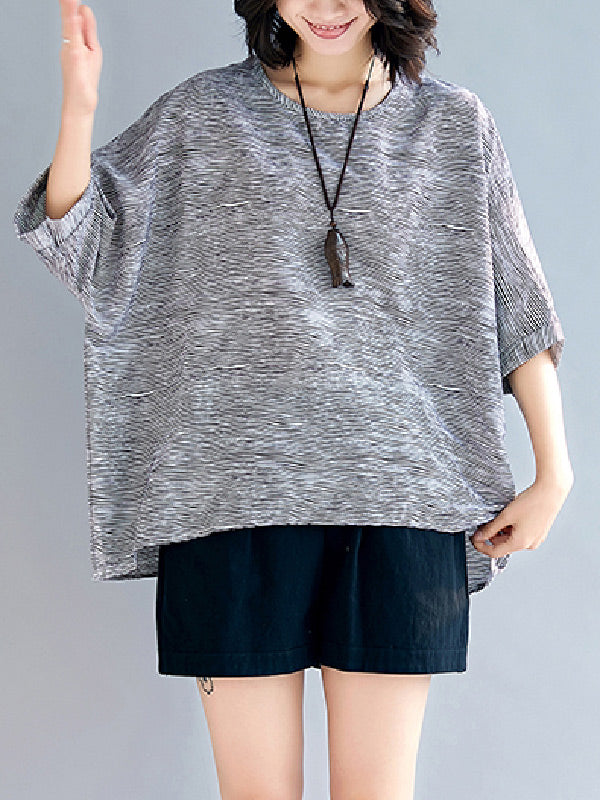 Plus Size Loose Shirt Top