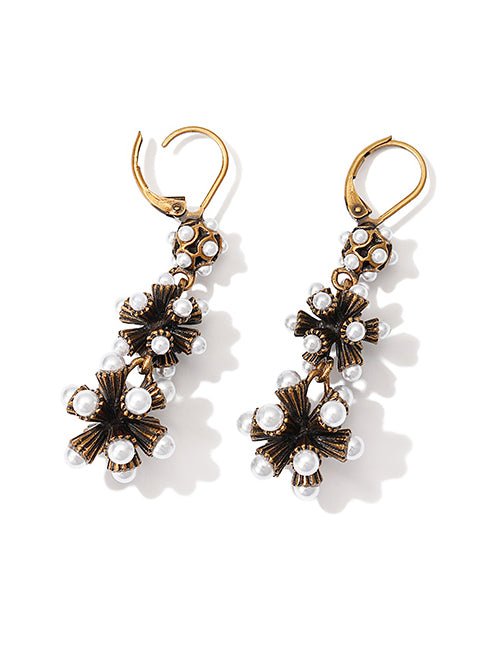 Baroque Vintage Long Earring