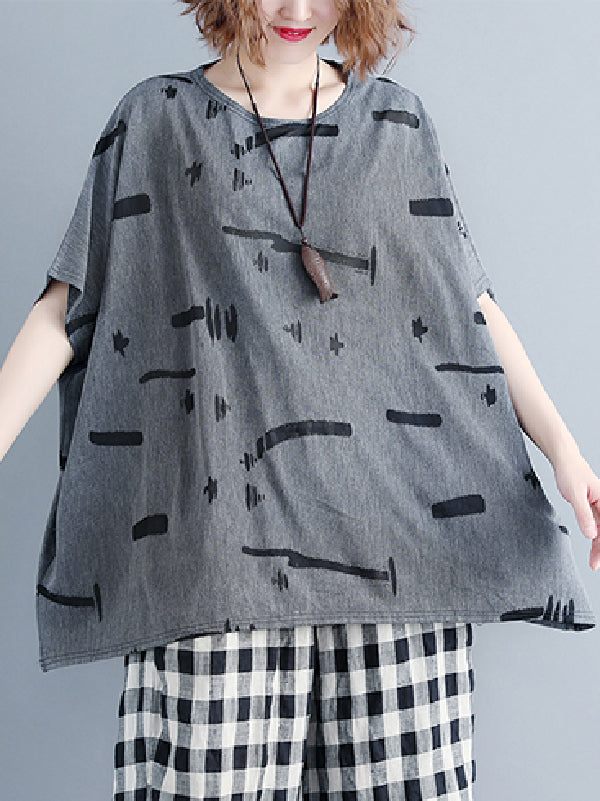 Loose Batwing T-shirt