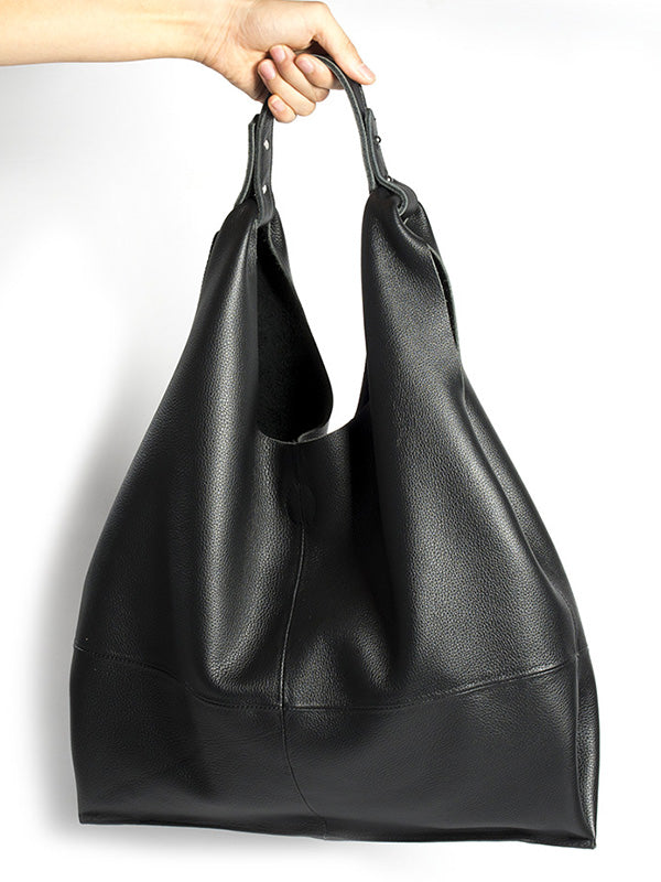 Soft Cow Leather Big Bag
