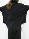 5 Colors Half-High Collar Long-Sleeved T-Shirt