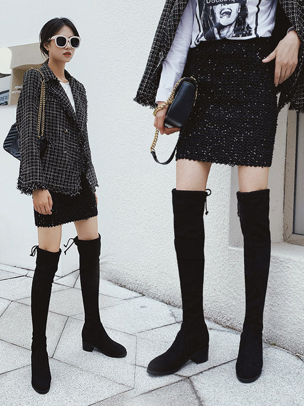 Casual Comfortable Slim Overknee Long Boots