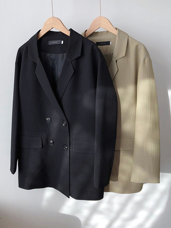 Loose Casual Blazer Outwear