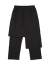 Asymmetric Thickening False Two Culottes