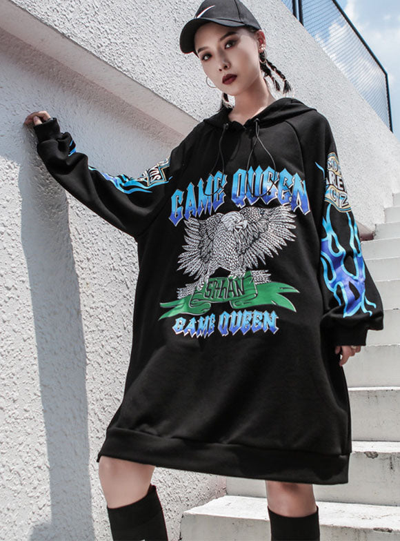 Loose Street Printed Hoodies