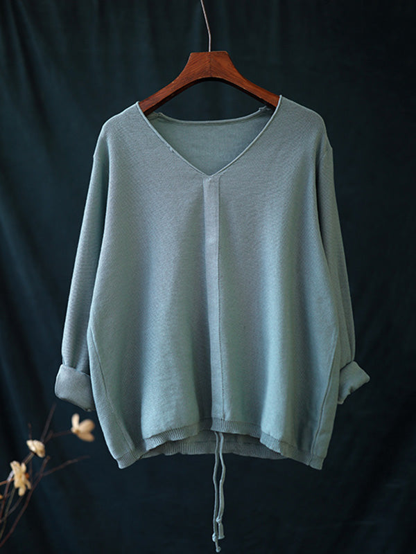 Casual Light Knitting Tops