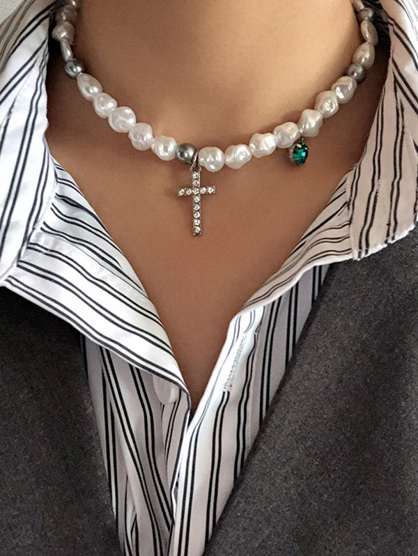 Chic Pearl Lovely Necklace