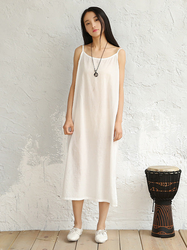 Casual Cotton Slip Dress