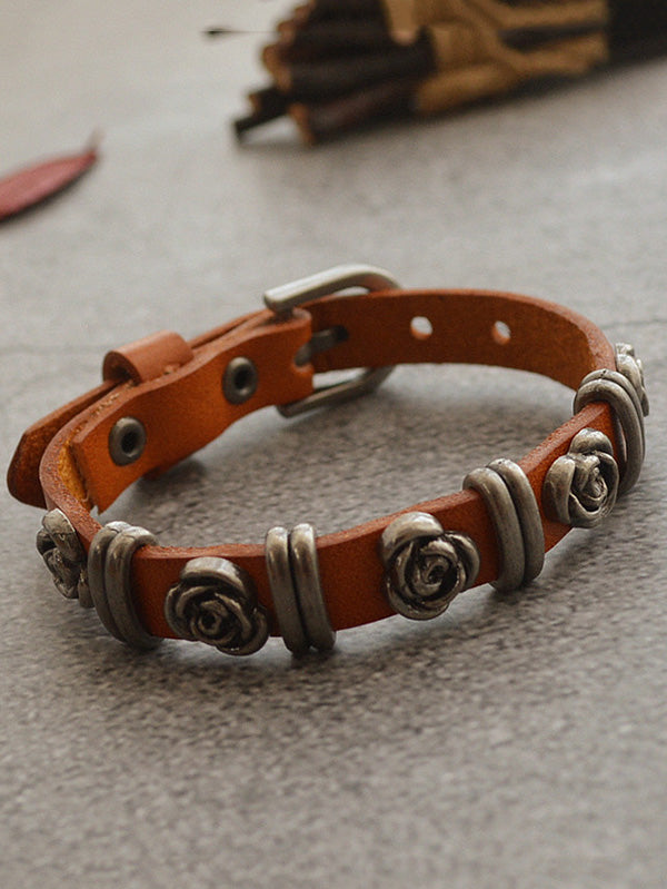 Metal Rose Bracelet Accessories