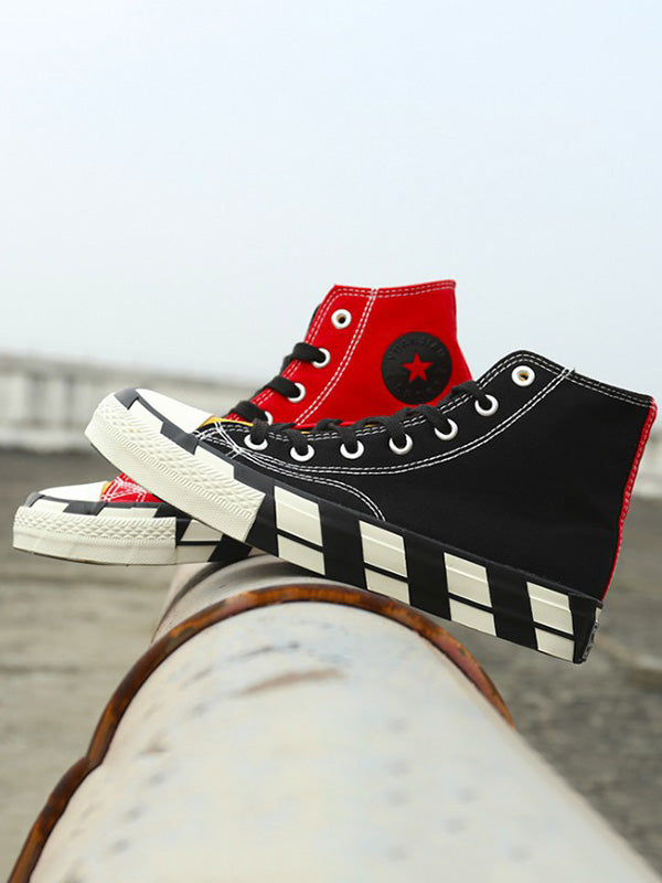 Fashion High Top Canvas Sneaker Shoes