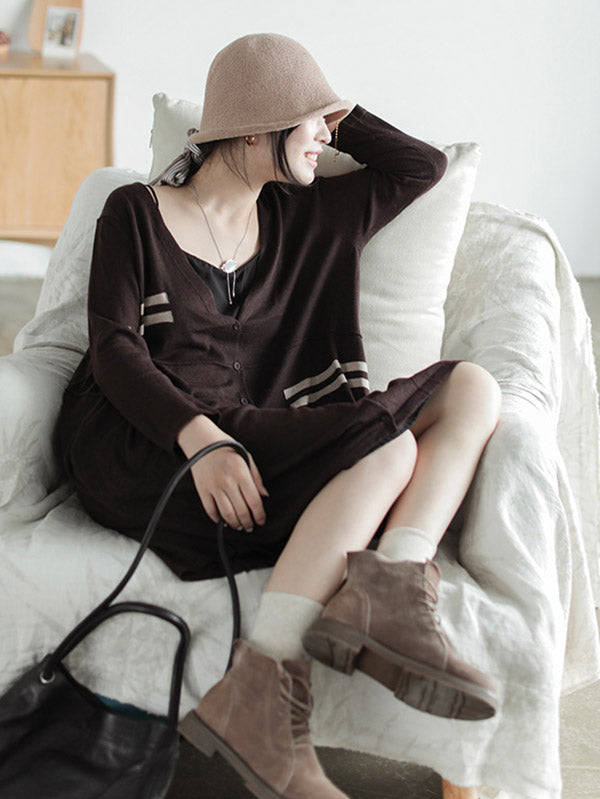 Casual Light Knitting Outwear