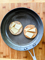 grilled cheese saute pan