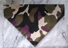 Load image into Gallery viewer, Camouflage Canine Bandana