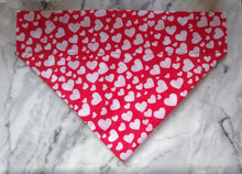 Load image into Gallery viewer, I Wuff You Heart Bandana