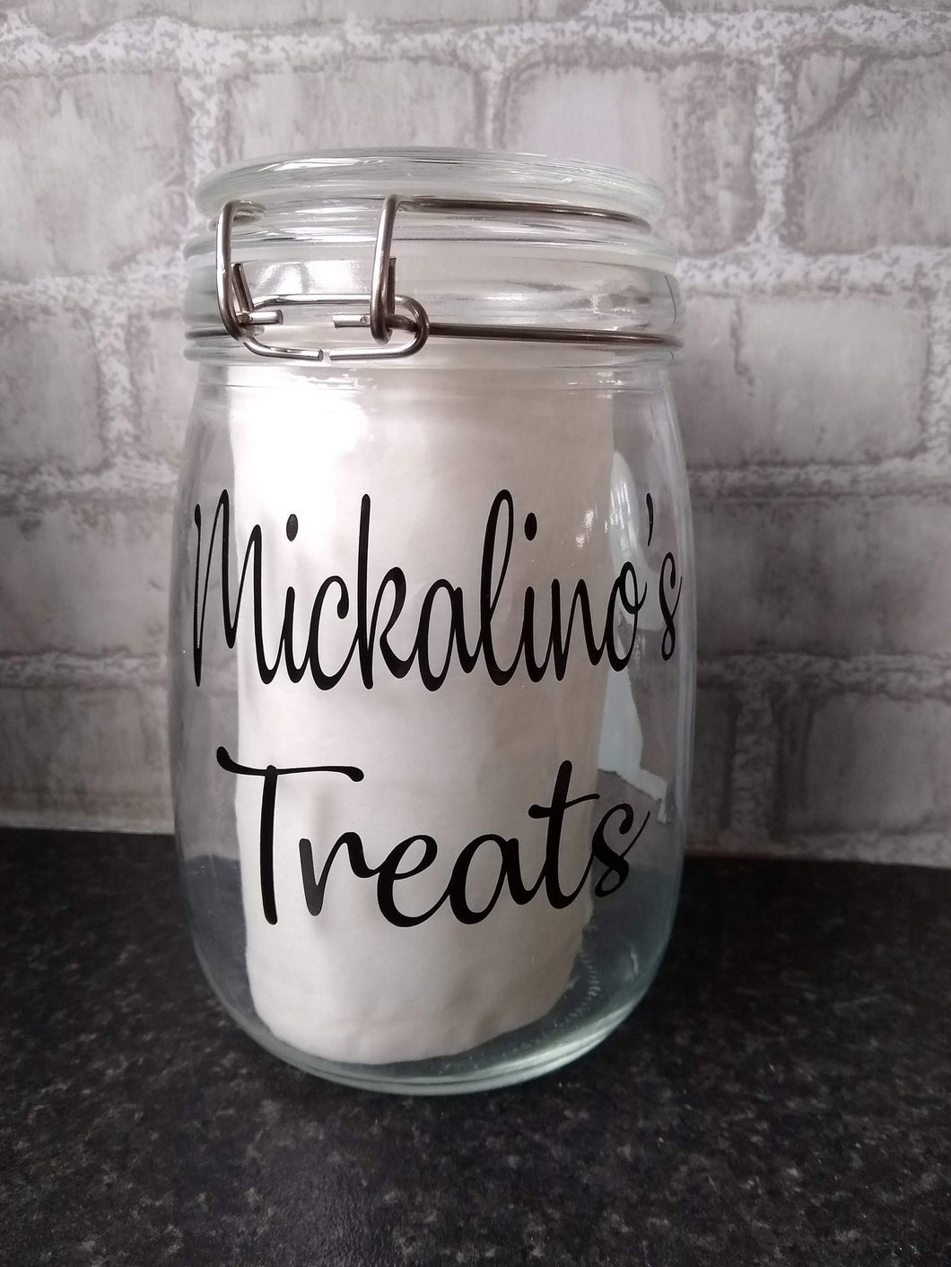 Personalised Treat Jar