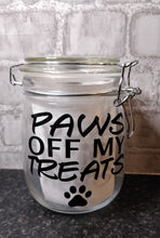 Load image into Gallery viewer, Paws Off Treat Jar