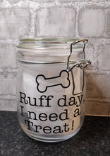 Load image into Gallery viewer, Ruff Day Treat Jar