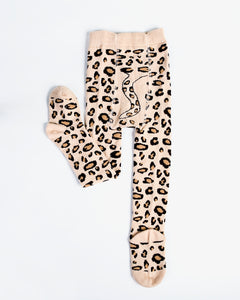 Leopard Tights