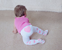 Load image into Gallery viewer, Pink Heart Tights