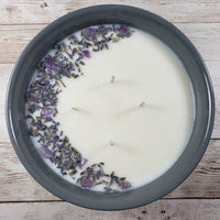 Relax | Manifestation | Intention Bowl | 20 Ounce Candle | Bowl | Meditation Candle