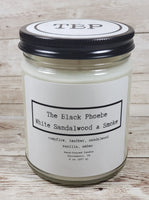 Sandalwood & Smoke Candle | 8 Ounce