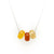 Cornwall 'Newquay' Mini Sand Bead Necklace