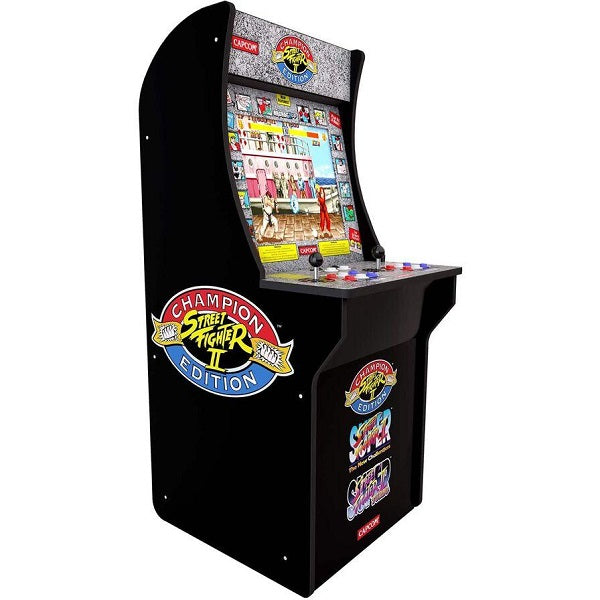 Street Fighter II Arcade Cabinet
