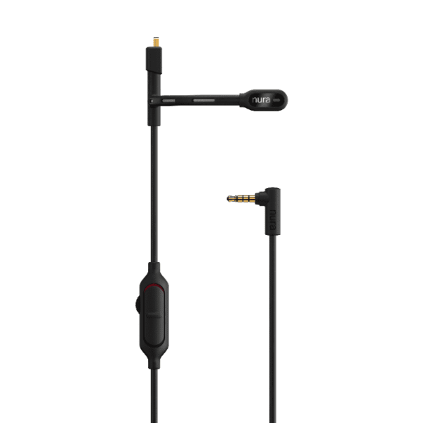 Gaming boom microphone for Nuraphone