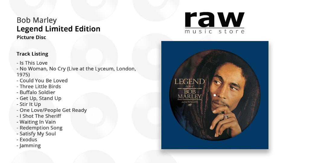 Bob Marley & The Wailers - Legend Limited Edition