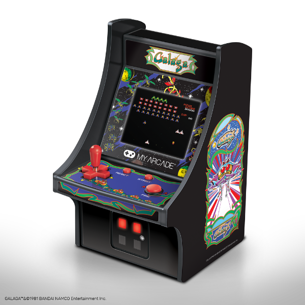 Galaga Collectible Miniature Arcade Cabinet