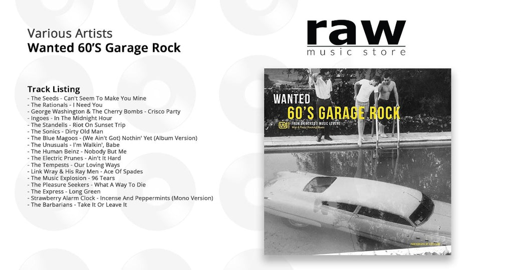 Various Artists - Wanted 60'S Garage Rock