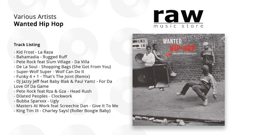 Various Artists - Wanted Hip-Hop