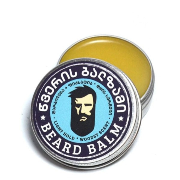 Beard Balm (All Natural, Woodsy Scent)
