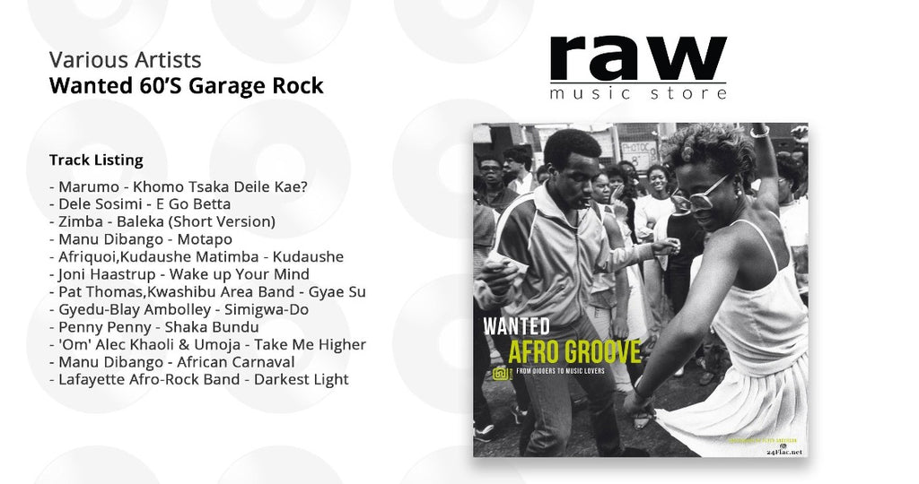 Various Artists - Wanted Afro Groove