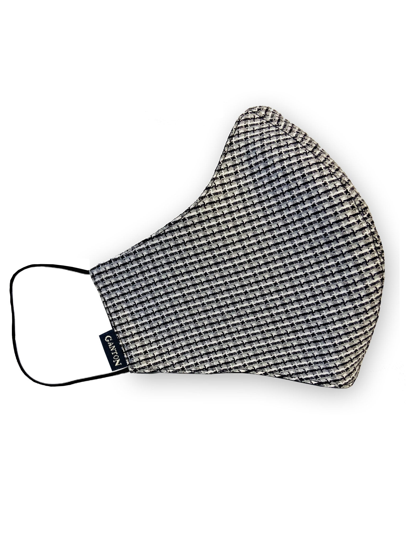 Grey / Black Reversable Four Layer Protective Face Mask