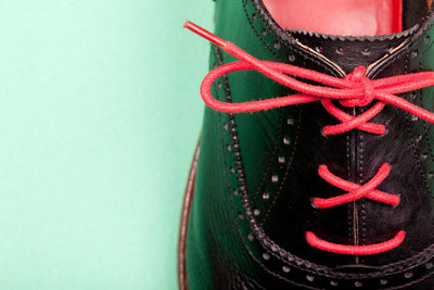Red Mavericks Archie Shoe Laces