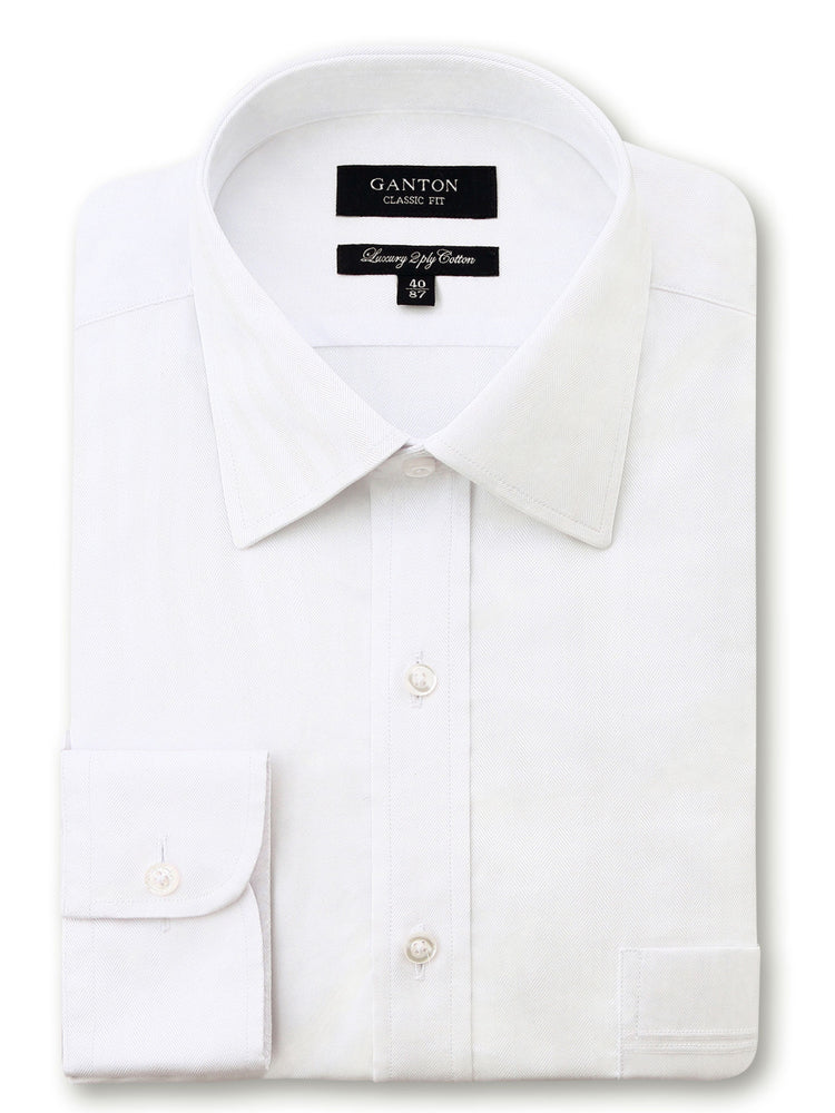 Jeff White Textured Shirt