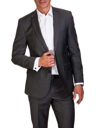 White Plain Tailored Fit Thomas 2 Ply Cotton Shirt