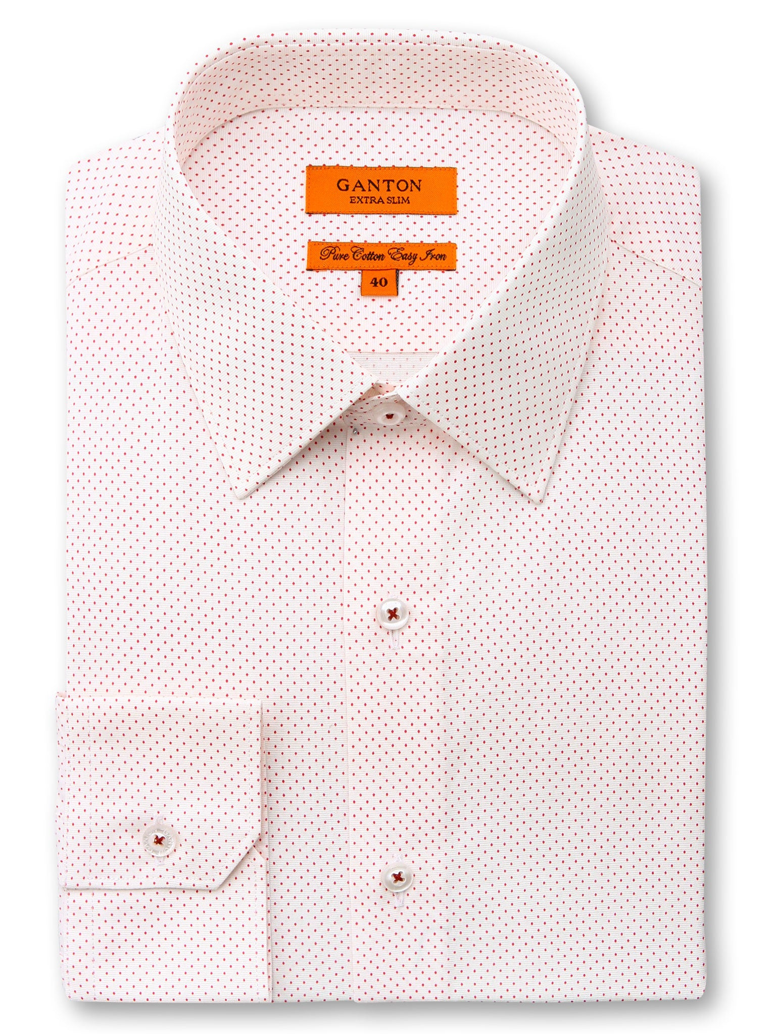 Red Spot Business Casual Slim Fit Bryce Cotton Shirt